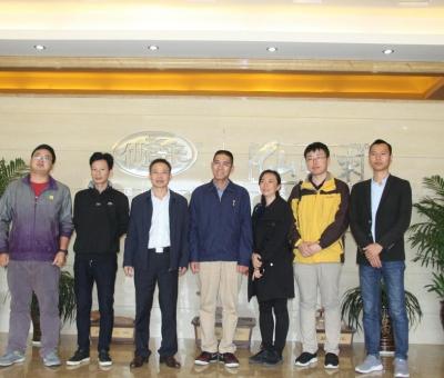 中国食用菌协会副会长何方明一行莅临仙客来考察调研